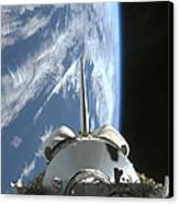 Space Shuttle Endeavours Payload Bay Canvas Print by Stocktrek Images