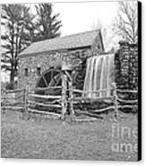 Sudbury Grist Mill  Canvas Print by Catherine Reusch  Daley