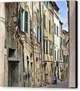 Taggia In Liguria Canvas Print by Joana Kruse