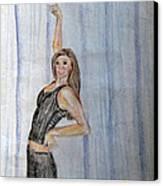 Taylor's Haunting Canvas Print by Jana Barros