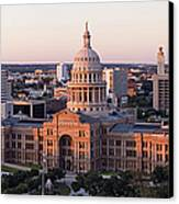 Texas State Capitol Canvas Print by Jeremy Woodhouse
