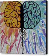 The Brain Canvas Print by Holly Hunt