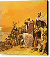 The Crusades Canvas Print by Gerry Embleton