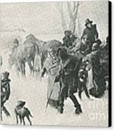 The Underground Railroad Canvas Print by Photo Researchers
