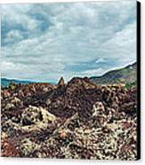 Volcano Batur Canvas Print by MotHaiBaPhoto Prints