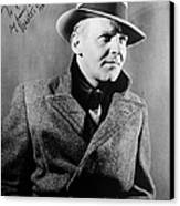 Walter Winchell (1897-1972) Canvas Print by Granger