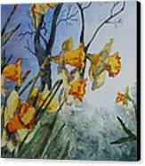 Welcome Springtime Canvas Print by Patsy Sharpe