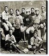 Yale Baseball Team, 1901 Canvas Print by Granger