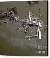 Hurricane Katrina Damage Canvas Print by Science Source