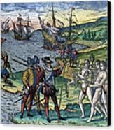 Christopher Columbus Canvas Print by Granger