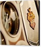 1934 Packard 1104 Super Eight Phaeton Emblem Canvas Print by Jill Reger
