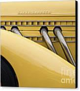 1935 Auburn 851 Sc Speedster Detail - D008160 Canvas Print by Daniel Dempster