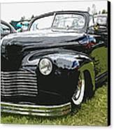 1940 Chevy Convertable Canvas Print by Steve McKinzie