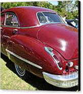 1947 Cadillac . 5d16184 Canvas Print by Wingsdomain Art and Photography