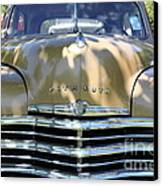 1949 Plymouth Delux Sedan . 5d16205 Canvas Print by Wingsdomain Art and Photography