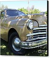 1949 Plymouth Delux Sedan . 5d16207 Canvas Print by Wingsdomain Art and Photography