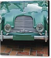 1955 Aston Martin Canvas Print by Jill Reger