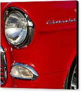 1955 Chevrolet 210 Headlight Canvas Print by Jill Reger
