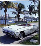 1963 Ford Thunderbird Canvas Print by Fpg
