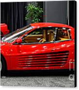 1987 Ferrari Testarossa . 7d9399 Canvas Print by Wingsdomain Art and Photography