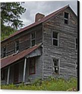 Abandoned Homestead Canvas Print by John Stephens