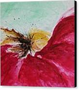 Abstract Flower  Canvas Print by Ismeta Gruenwald