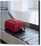Airport Baggage Claim Canvas Print by Jaak Nilson