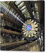 Atlas Detector, Cern Canvas Print by David Parker