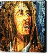 Bob Marley Canvas Print by Biren Biren
