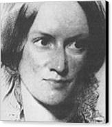 Charlotte Bronte, English Author Canvas Print by Science Source