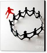 Conceptual Situation Canvas Print by Photo Researchers, Inc.