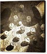 Dice Canvas Print by Joana Kruse