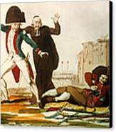 French Revolution, 1792 Canvas Print by Granger