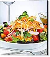 Garden Salad Canvas Print by Elena Elisseeva