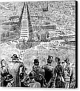 Garfield Inauguration, 1881 Canvas Print by Granger