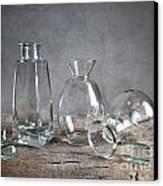 Glass Canvas Print by Nailia Schwarz