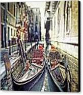 Gondolas Canvas Print by Joana Kruse