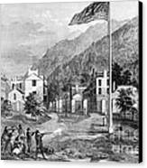 Harpers Ferry Insurrection, 1859 Canvas Print by Photo Researchers