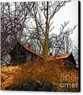 House On The Hill Canvas Print by Joyce Kimble Smith