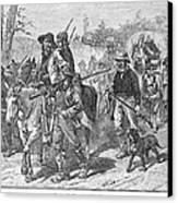 Kansas: Border Ruffians Canvas Print by Granger