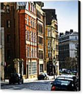 London Street Canvas Print by Elena Elisseeva