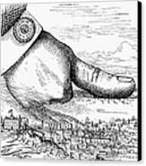Nast: Tweed Ring Cartoon Canvas Print by Granger