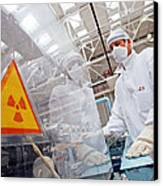 Nuclear Fuel Assembly, Russia Canvas Print by Ria Novosti