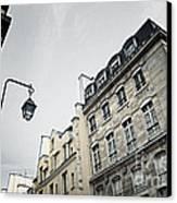 Paris Street Canvas Print by Elena Elisseeva