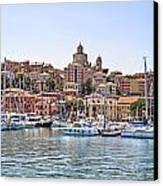 Porto Maurizio - Imperia Canvas Print by Joana Kruse