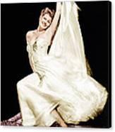Rita Hayworth, 1940s Canvas Print by Everett