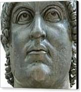 Rome Italy. Capitoline Museums Emperor Marco Aurelio Canvas Print by Bernard Jaubert