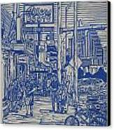 South Congress Canvas Print by William Cauthern