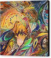 The Olive Tree Canvas Print by Elena Kotliarker