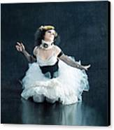 Vintage Dancer Series Canvas Print by Cindy Singleton